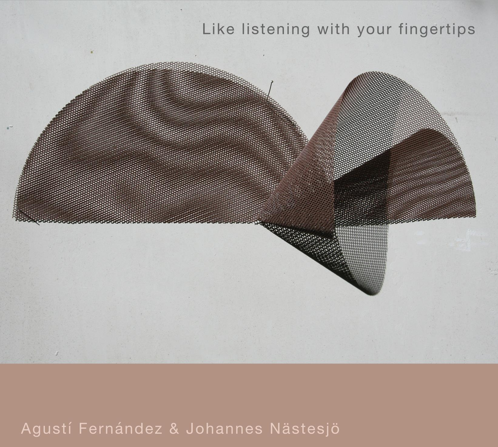 Like listening with your fingertips cover